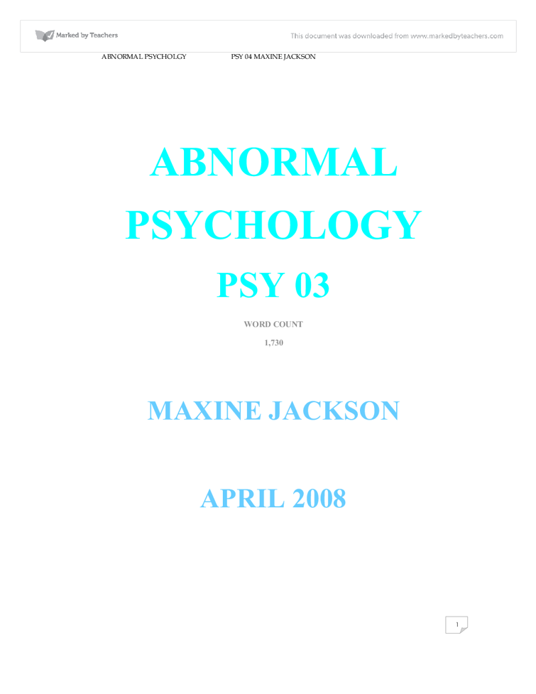 behaviourist psychology essay Developmental psychology essay 22009 - free download as word doc (doc), pdf file (pdf), text file (txt) or read online for free.