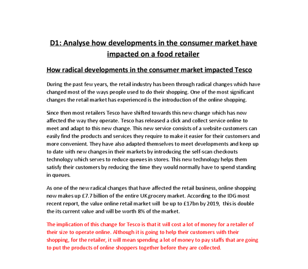Legal studies consumer essay