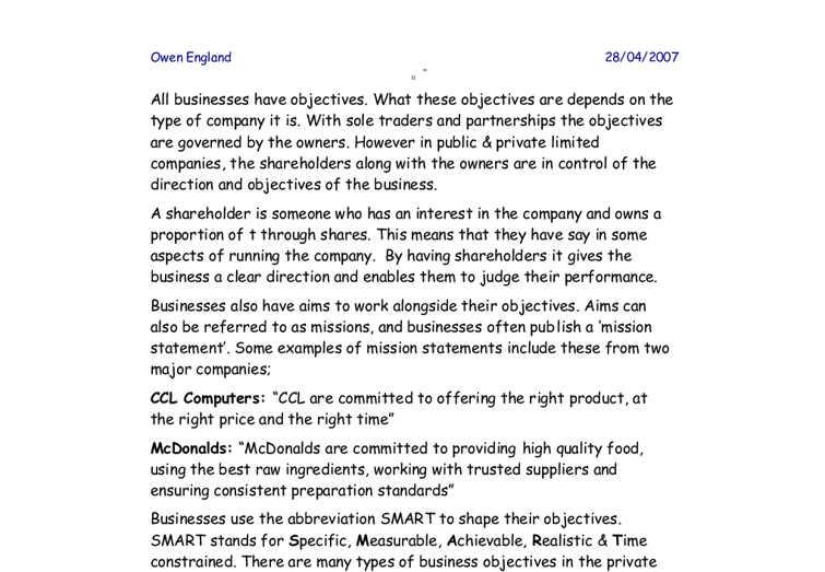 all business studies essays Results 1 - 10 of 202 gcse business studies the deconstruction of an audi car advertisement media · 'in the nick of time' is one of a new generation of car advertisements it moves away from the stereotypical sales-tactics of its predecessors ie young attractive males driving fast cars that vastly improve their sex-lives, and.