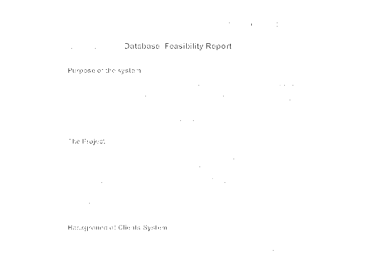 Full sample of spa feasibility study