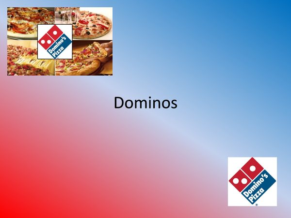 marketing analysis of dominos pizza essay Free essay: the fast food restaurant industry - analysis of the pizza industry  the  by the market leader, domino's pizza enterprises limited (ibisworld 2013.