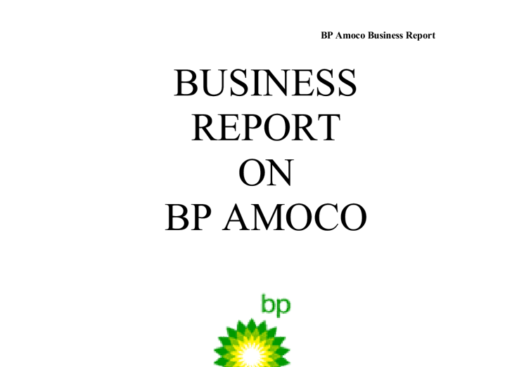 the harmonized saving plan at bp amoco essay Free essay: as long-term valuation is assumed, risk free rate is set  the main  synergy from the merge is 2 billion dollars saving of pretax operating cost  the  average expense ratio for the indexed funds in the amoco plan.