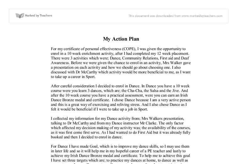 Drama reflection essay template