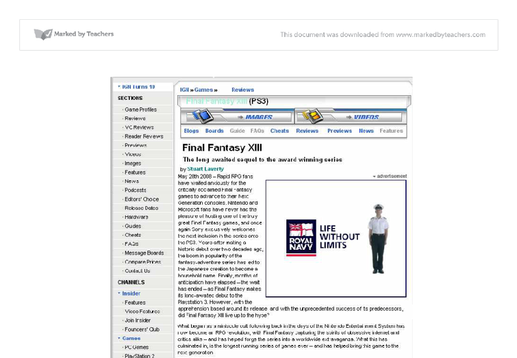 Document image preview