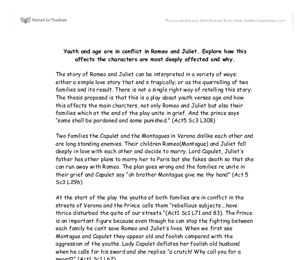 romeo and juliet youth and age essay Adolescence in romeo and juliet essay sample bla bla writing juliet (9) the youth typically enters his first stage, the baby phase, at the age of twelve or thirteen juliet ultimately comes of age as she takes the happy dagger and proclaims.