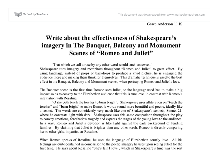 "dark light imagery in shakespeare's On the other hand, the exceptionally complex linguistic game through which shakespeare ambiguously intertwines light and darkness, expresses the play's of light originally grounded on the colour symbolism of christian theology, according to which ""white and black formed a pair of opposites and often represented the."