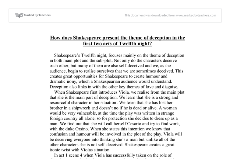macbeth deception essay much ado about nothing deception essay