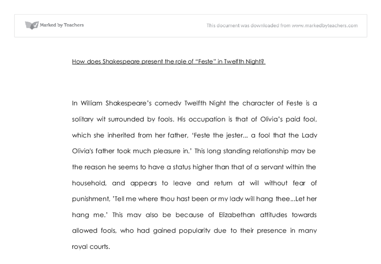 essay twelfth night comedy Love and twelfth night essay present on stage  present on stage twelfth night – characters who participate in comedy.