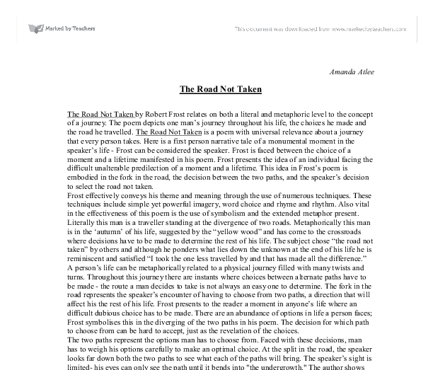 essay onrobert frost poems Essays, term papers, book reports, research papers on poetry free papers and essays on robert frost we provide free model essays on poetry, robert frost reports.