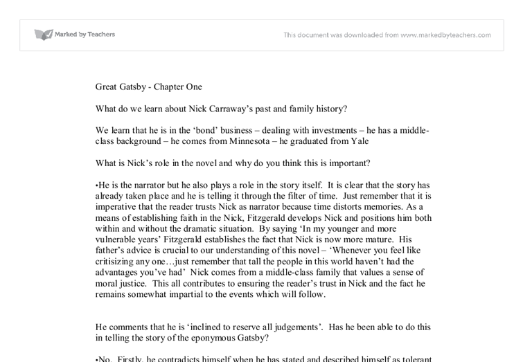 great gatsby pdf chapter 1