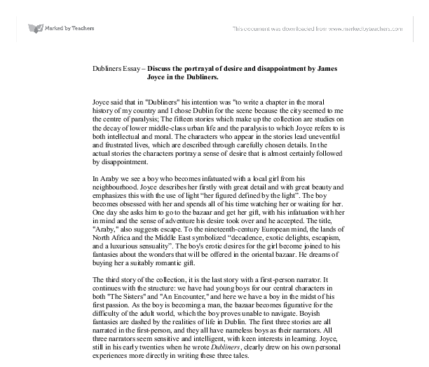 English Essay Structure Document Image Preview Healthy Living Essay also Buy Essay Paper Discuss The Portrayal Of Desire And Disappointment By James Joyce In  Short Essays For High School Students