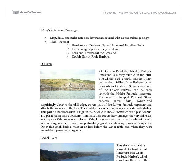 isle of purbeck and swanage essay Plan a trip to isle of purbeck and create a sightseeing itinerary for your isle of purbeck holiday see & do more on your isle of purbeck vacation.