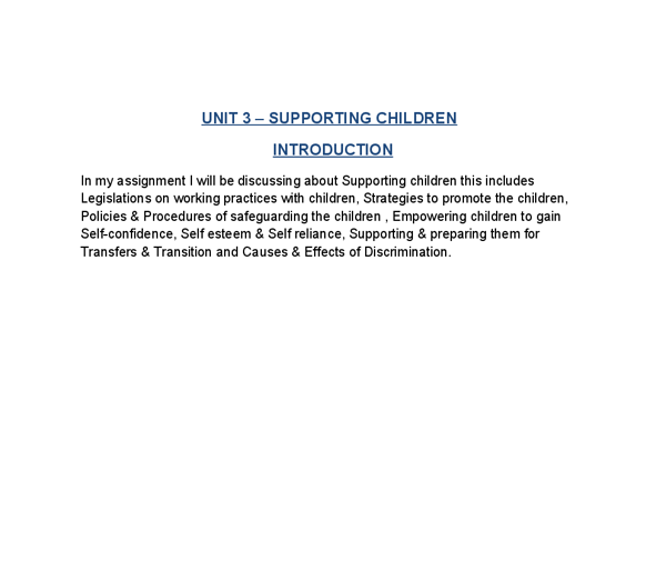 safeguarding children essay