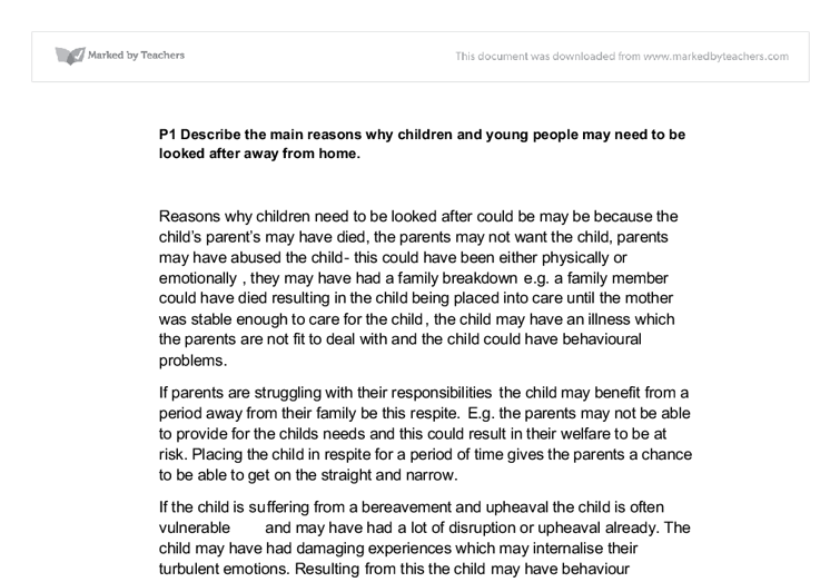 p1 why children and young people Btec nationals gain an understanding of the risks to children and young people of abusive and exploitative behaviour and the strategies used to safeguard them from this behaviour.