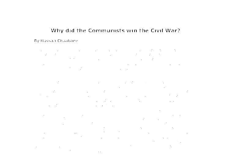 why did the civil war start essay When did the civil war begin why the civil rights movement was an insurgency civil war facts facts about the american civil war.