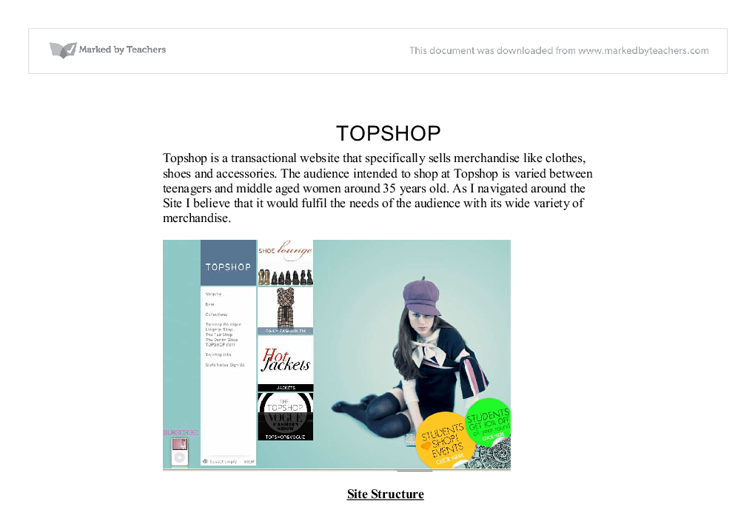 topshop transactional website essay Marketing research - limitations and constraints  reach the audience you really want to apply for your teaching vacancy by posting directly to our website and.
