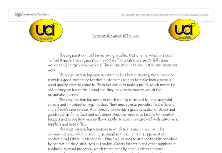 how ict helps uci essay The education essay below has been submitted to us by a student in order to help you with your studies  what is a curriculum education essay  ict subjects.