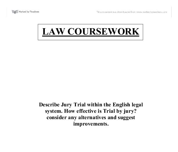 Describe Jury Trial within the English legal system. How ... | 612 x 523 png 16kB