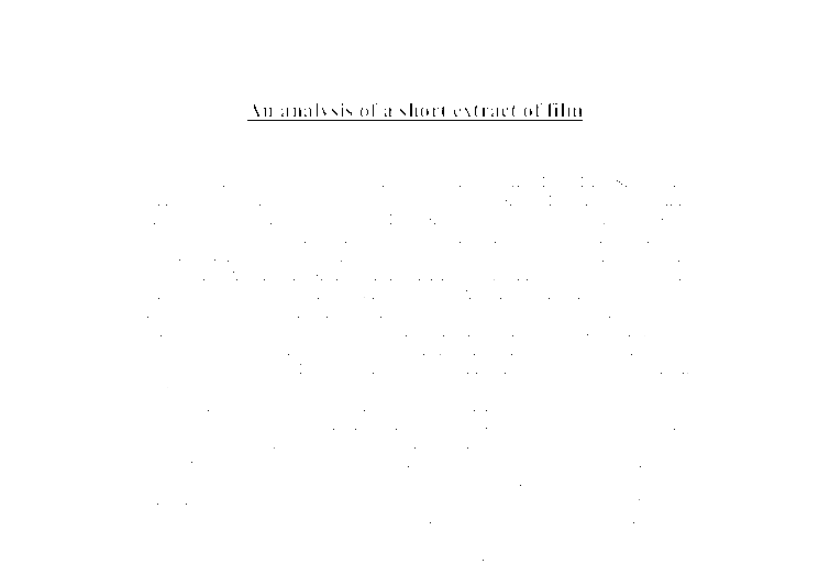 essay on film director