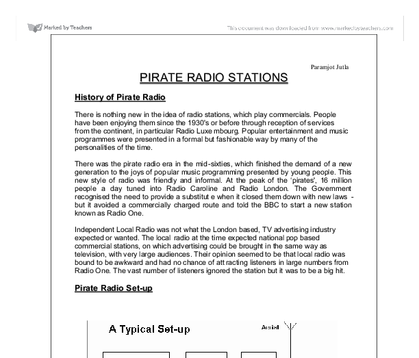 pirates essay Find and download essays and research papers on pirates.