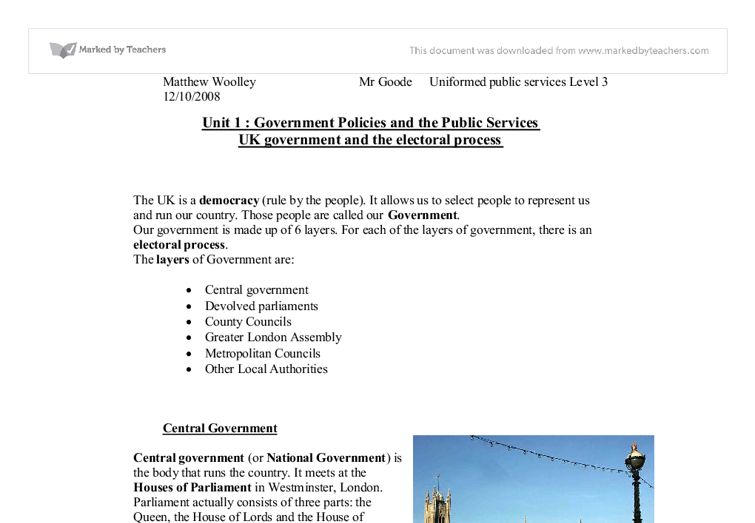 Public Policy check your assignment