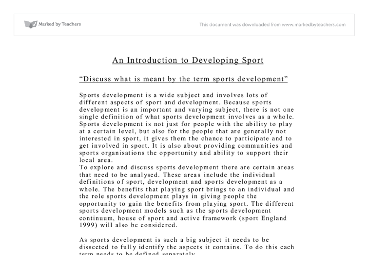 our sports meet essay typer