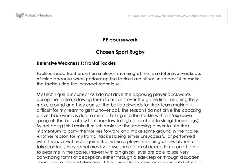 a level pe essays Search to find a specific physical education essay or browse from the list below:   mark speedie is a national level runner, aged 25 historically his training has.