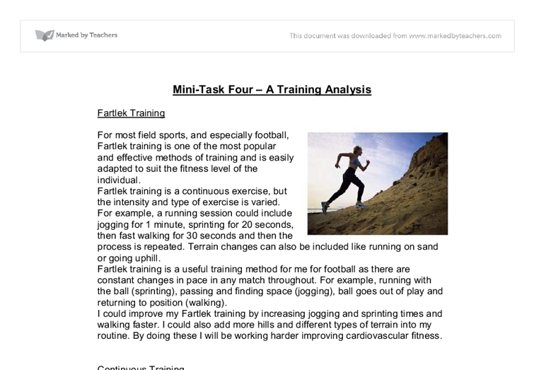 edexcel a2 physical education coursework