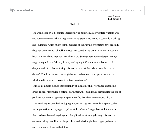 Model Essay English Document Image Preview Persuasive Essay Paper also Argument Essay Sample Papers This Essay Aims To Discuss The Possibility Of Legalising All  Science Development Essay