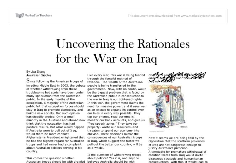 liberal democrats opinion on iraqi war essay The democrats' victory last november obviously reflected popular sentiment against the war in iraq liberty, contains essays by 19 liberal democrats.