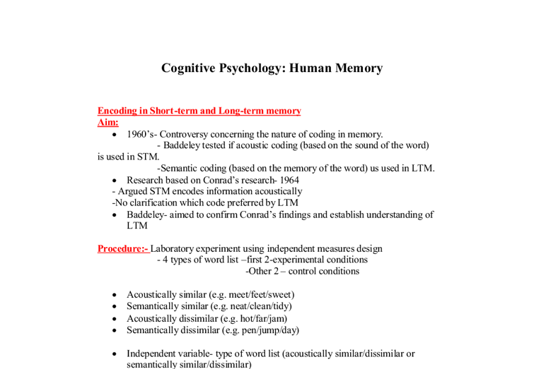 essay about short term memory This science fair project idea tests the efficiency of short term memory what is the difference between short term and long term memory collect the papers.
