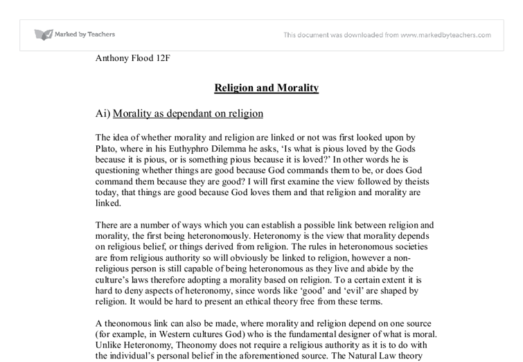 best ideas about religion and morality essay is rape wrong because god commands it or because there is a rational reason why it is wrong morality could derive from a number of different factors