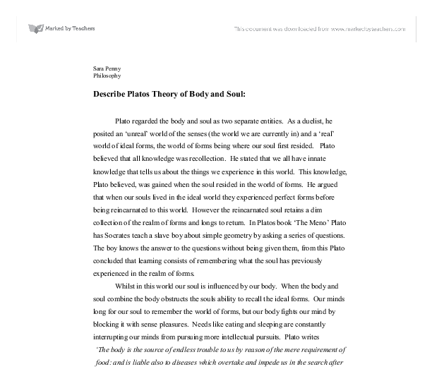 Theory of descriptions essay