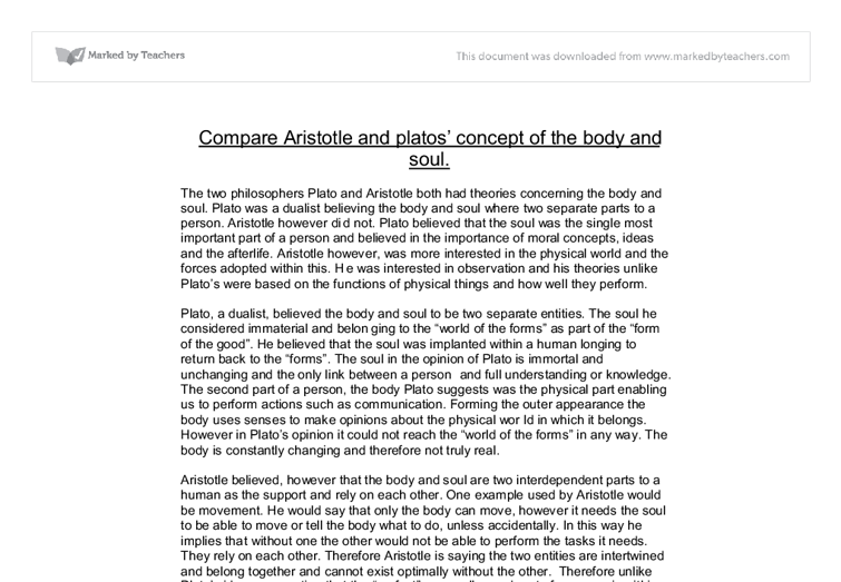 a comparison of aristotle and platos theory of ethics The ethics of plato and aristotle dr william large we can therefore see a similar difference in their ethical theories as in their metaphysical ones to gain scientific and mathematical knowledge is relatively simple in comparison.
