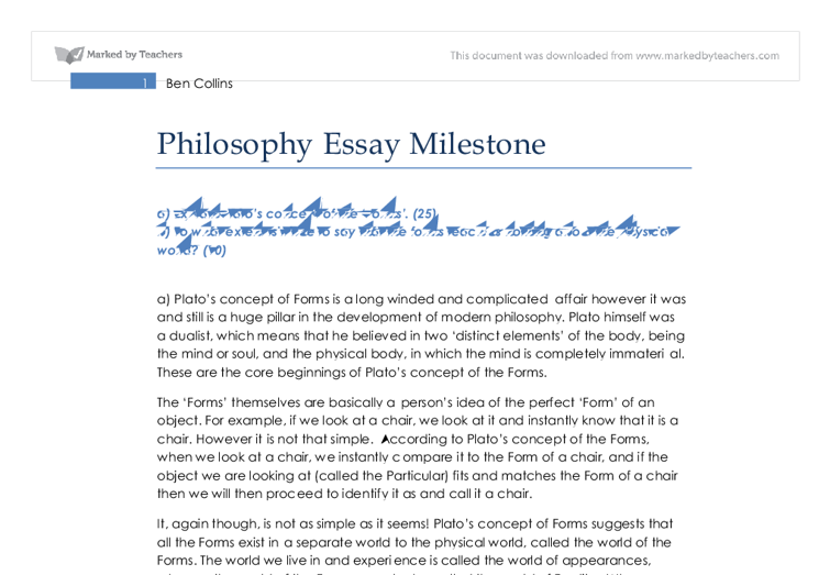 philosophy of learning essay Writing a teaching philosophy statement can be a strange and intimidating exercise for many learning – and it is you assign certain essays.
