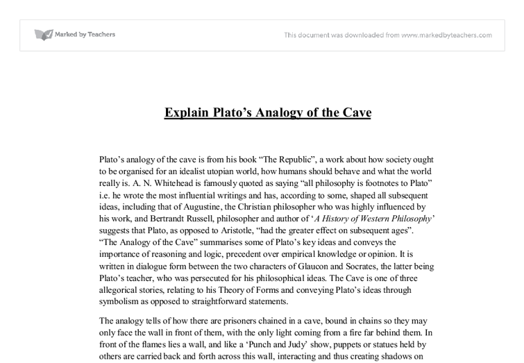 philosophy plato 3 essay Essay about what is truth - comparison of plato and peirce's philosophy  truth and reality essay philosophy plato's cave what is reality  pages 3 plato.
