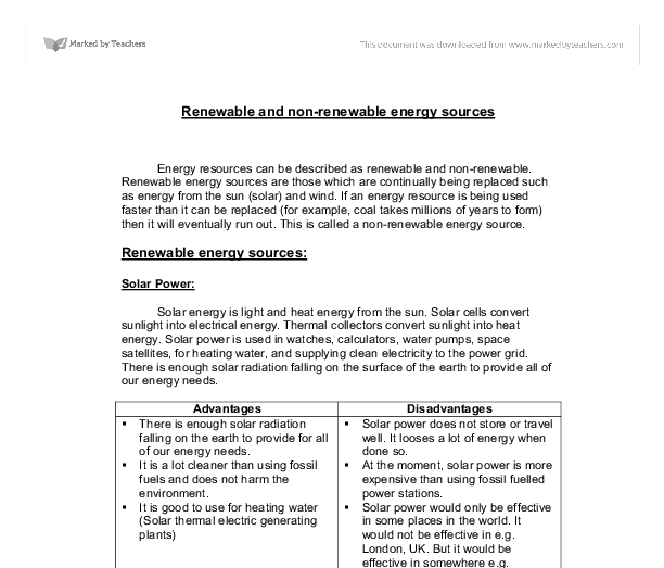 renewable energy essay titles Renewable energy is something the world should take on seriously renewable energy resources such as biomass, geothermal, hydropower, nuclear, solar, and wind are going to be the main sources of energy for our planet in the future renewable energy is produced from resources that are constantly replaced (renewable energy primer, 1.