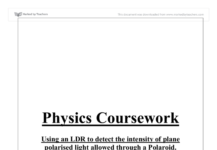 physics as coursework Macquarie university physics and astronomy department focus our teaching and  research in the areas of astronomy and astrophysics, lasers, photonics and.