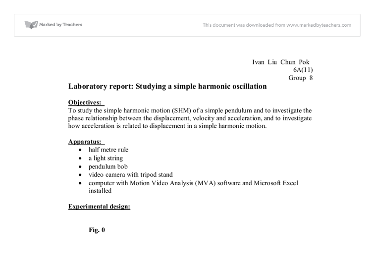 density determination lab report essay example Experiment 2 determining density purpose: 1 to determine the density of an irregularly shaped object this report presents the mass of an unbalanced shaped mineral, and shows the difference of mass in air as well as water this lab report will use archimedes principle to show the relationship.