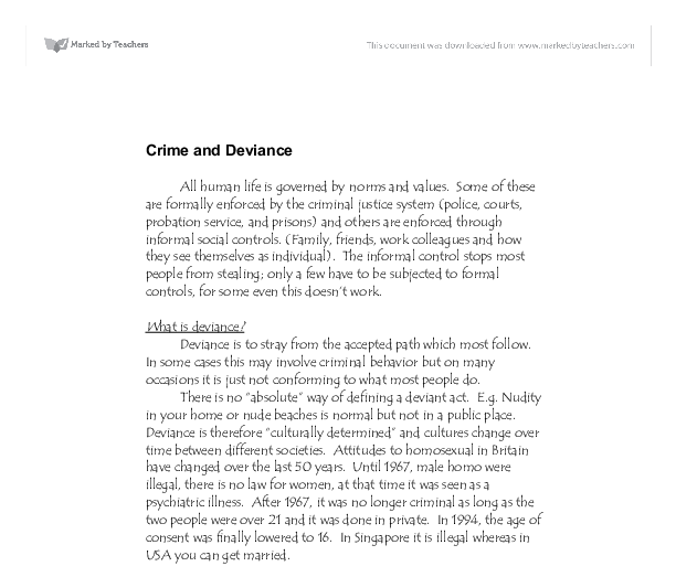 research paper on crime 7th grader