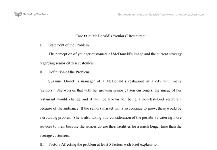 social media in mcdonaldís marketing essay This paper therefore discusses the impact (both negative and positive) of social media in contemporary business communication.