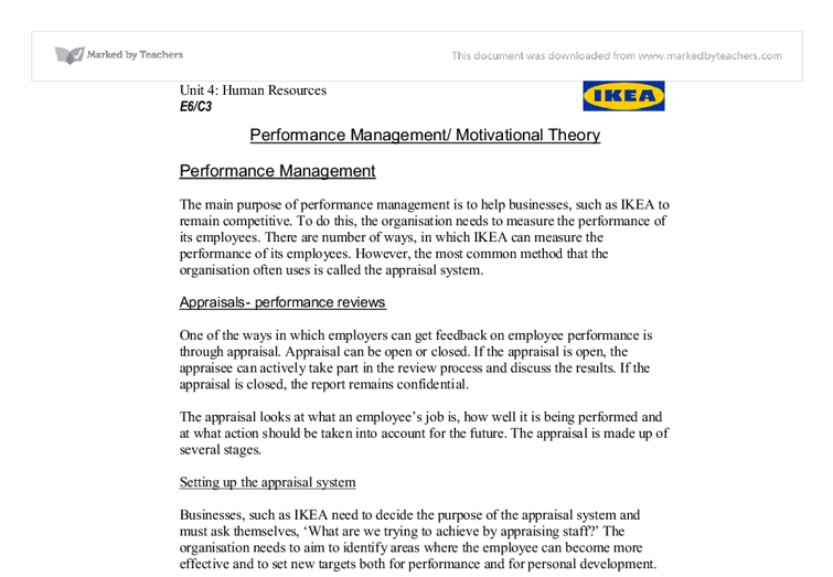 manage people performance 2 essay The why, what, and how of management innovation gary hamel  you cross new performance thresholds—and sustain your competitive edge  2 cost accounting and.
