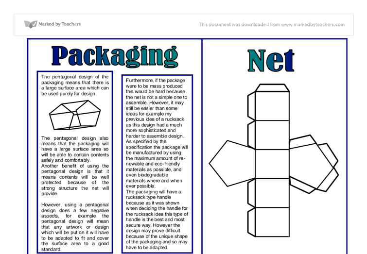 ocr product design gcse coursework