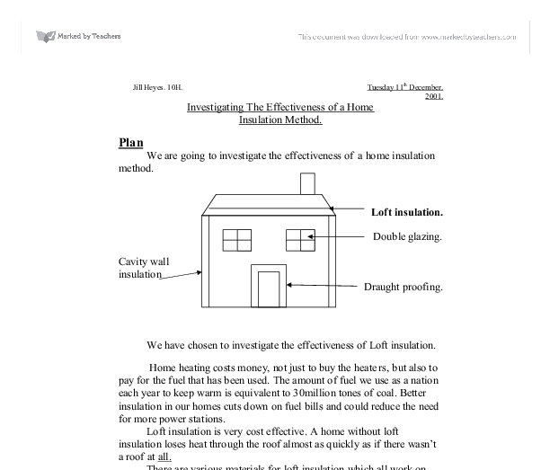 investigating insulation essay Investigating basic circuits essay it will allow you to investigate and discover: what are voltage, current, and resistance how are they related to one another.