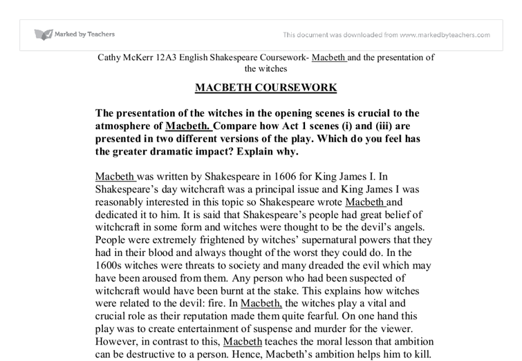 directing macbeth essay Role reversal in macbeth essay  he could be described as paranoiac for directing bravos after banquo and his boy and even directing another bravo to kill banquo.