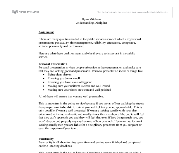 Essay On Punctuality Punctuality In The Military Essay Example For  Essay On Punctuality