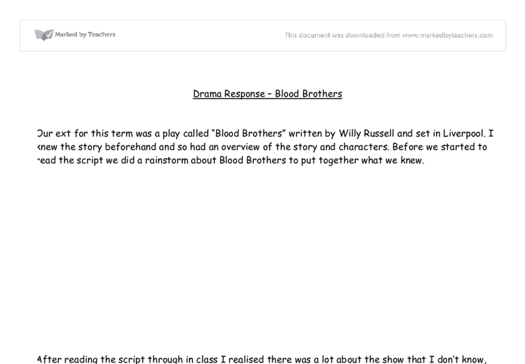 blood brothers full text pdf