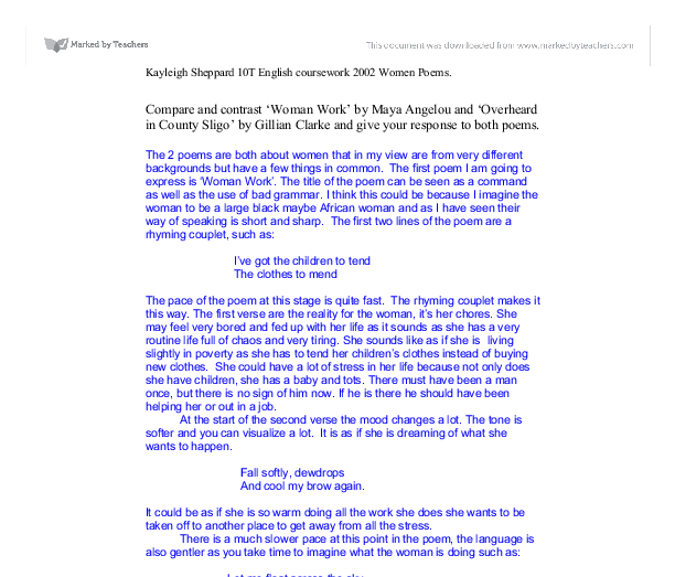 Peer editing literary essay thesis