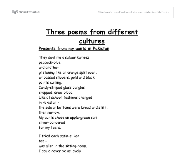 essay on poems from different cultures essay help essay on poems from different cultures check out our top essays on different cultures to
