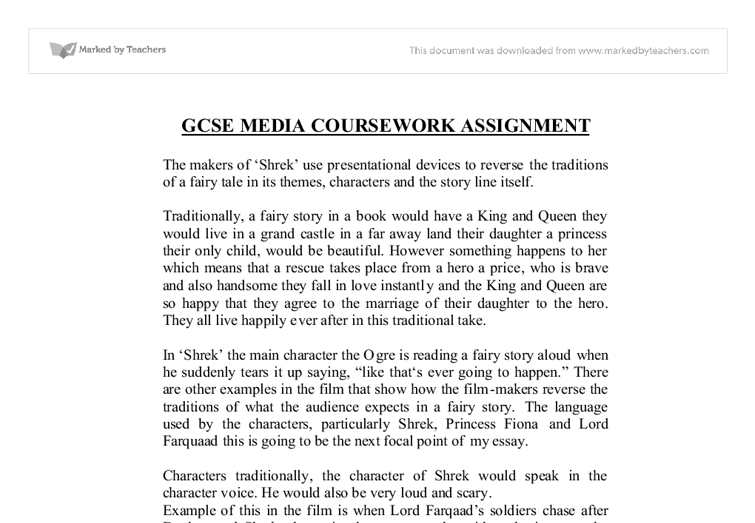 media studies shrek essay Ioticssemiotics semiotics 2012 andrew west media studies  shrek the movie essay shrek is a big green ogre who lives alone in the woods he is feared by all the.